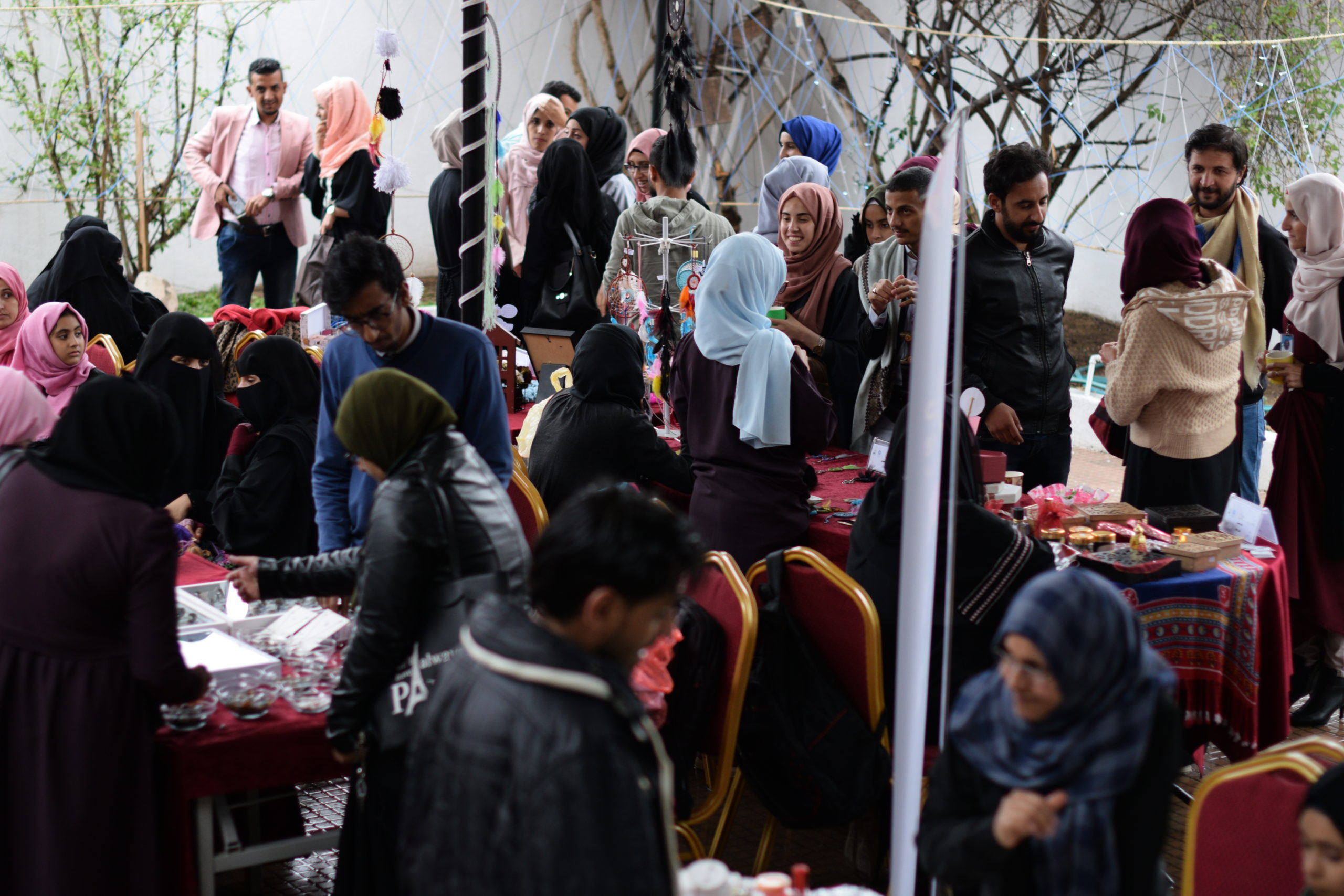 The Fourth Day Dedicated to The Exhibition of (handicrafts and gifts) Within The Activities of The Global Entrepreneurship Week - 2019